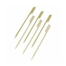 Lapos végű bambusz koktélnyárs natural (lebomló) 120mm 100db/csomag