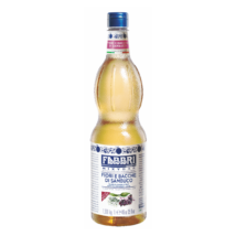 Fabbri Gluténmentes Fekete Bodza Szirup 1L / Black Elderflower syrup 1000ml