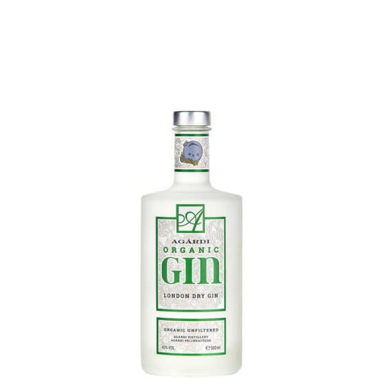 Agárdi Organic (Bio) Gin 0,5l (43%)