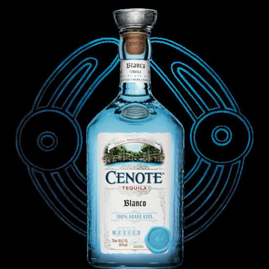 CENOTE BLANCO TEQUILA 0,7L 40%