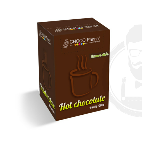 Forró csoki - Rumos diós / Hot Chocolate - 10db/doboz
