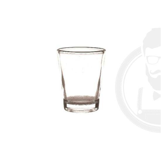 Szeszes üveg pohár 4cl, Shot