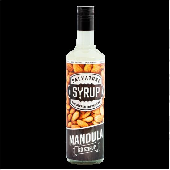Mandula ízű szirup 0,7 l